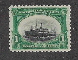 294 MNH 1c. Pan-American, Jumbo, scv: $110, Free Insured Shipping