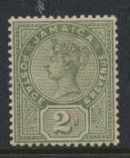 Jamaica  SG 28  Mint Hinged - see scan and details