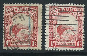 New Zealand looks like SG 557 & 578 Die I & Die II Used