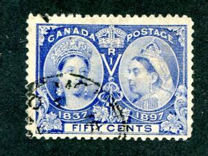 Canada #60  Used  VF CDS