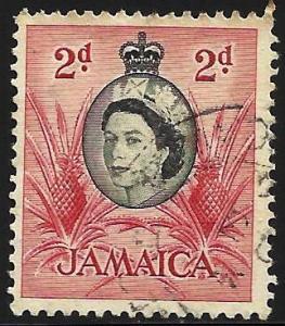 Jamaica 1956 Scott# 161 Used