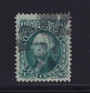 96 VF-XF used neat cancel PSE certificate with nice color ! see pic !