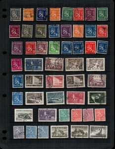 Finland 47 diff  mint and used stamps