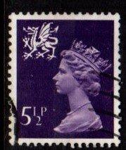 Wales - #WMMH6 Machin Queen Elizabeth II - Used