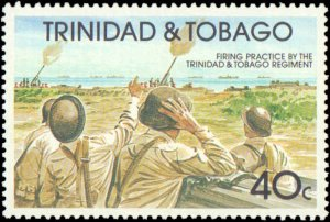Trindad & Tobago #534-537, Complete Set(4), 1991, Military Related, Never Hinged