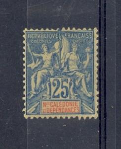 New Caledonia Scott 51 Mint hinged (Catalog Value $22.00)