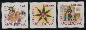 Moldova 222-4 MNH Christmas Tree, Children