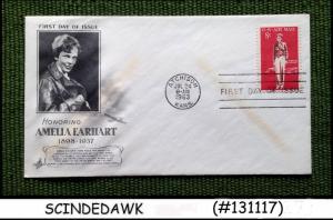 UNITED STATES USA - 1963 AMELIA EARHART - FDC