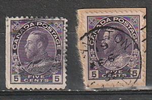 #112 Canada Used Admirals