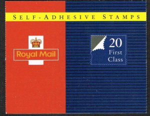 Great Britain Booklet SG MG1