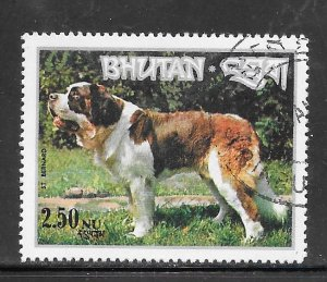 Bhutan #149K Dogs CTO Single