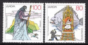 Germany 1965-1966 Europa MNH VF