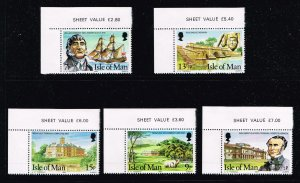 UK STAMP ISLE OF MAN FRESH MNH STAMPS COLLECTION LOT  #W3