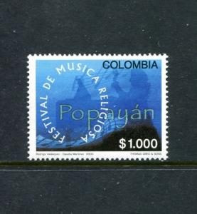 Colombia 1170, MNH, Music Festival 2000. x23435