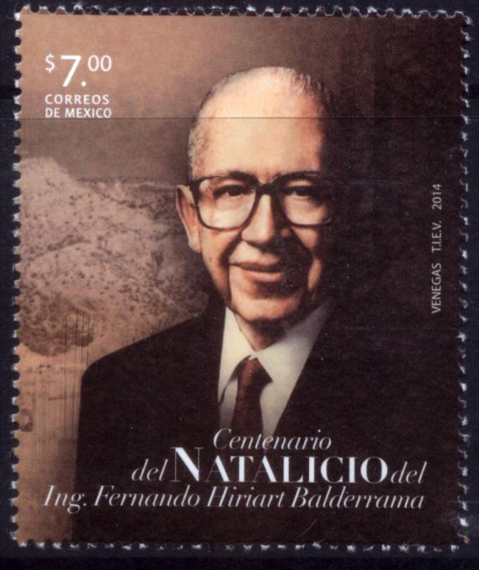 MEXICO 2919, Cent. Birth of Fernando Hiriart. MNH