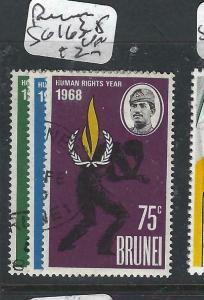 BRUNEI  (PP1005B)  UN HUMAN RIGHTS YEAR  SG 163-5  VFU