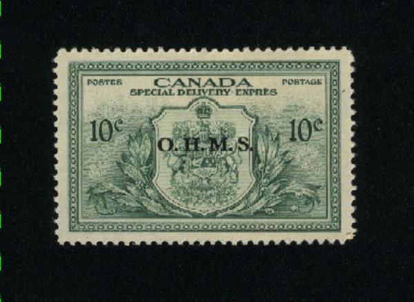 Canada #E01  M VF OG   PD  9.99