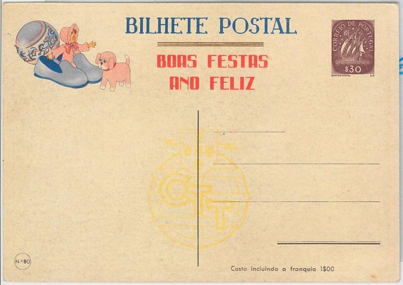 56703 - Doll TOYS Dogs -  PORTUGAL - POSTAL HISTORY - STATIONERY CARD