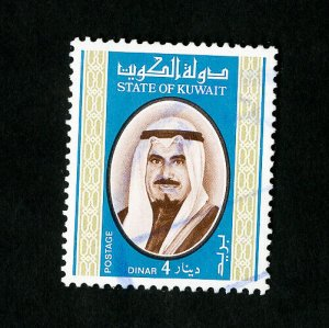 Kuwait Stamps # 763 VF Used Top Value Catalog Value $57.50