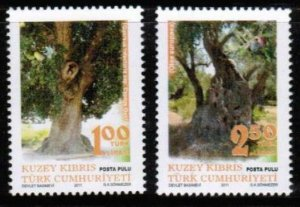 2011 UNMOUNTED MINT A CENTURY OLD TREES TURKISH CYPRUS