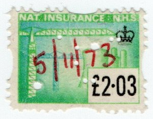 (I.B) Elizabeth II Revenue : National Insurance £2.03
