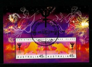 CHRISTMAS ISLAND SGMS436 1994 CHINESE NEW YEAR YEAR OF THE 0X FINE USED