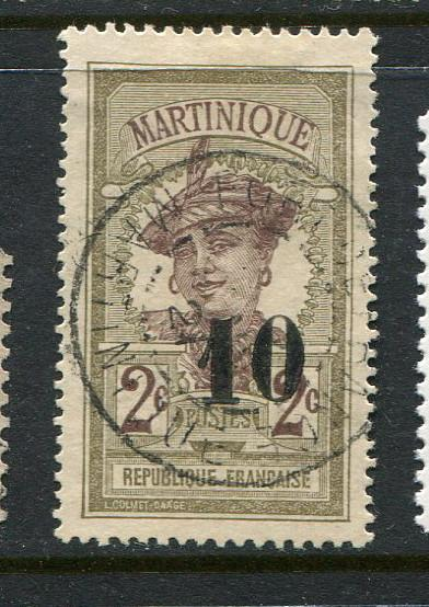 Martinique #106 Used