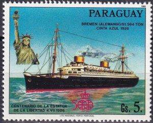 Paraguay #2179 MNH CV $2.50