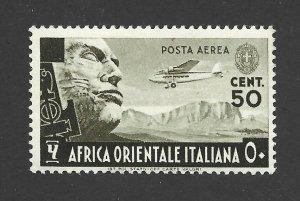 Italian East Africa Scott C2 Mint Hinged