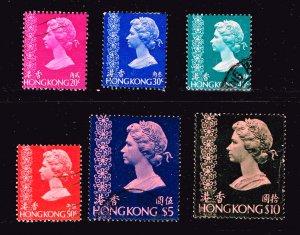 UK STAMP CHINA HONG KONG #287A $10 + USED STAMPS LOT