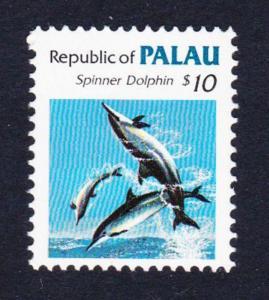 Palau Spinner Dolphin Marine Life $10 SG#24 SC#85 CV£20+