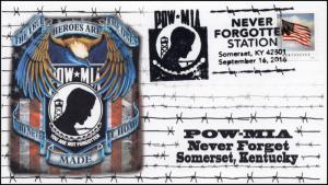16-417, 2016, POW-MIA, Somerset KY,Never Forgotten, Event