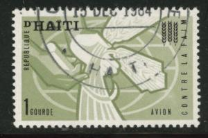 HAITI Scott C209 used CTO airmail 1963 Hunger