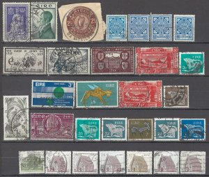 COLLECTION LOT OF #1738 IRELAND 30 STAMPS 1938+
