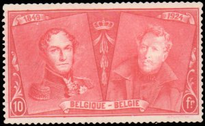 Belgium #172-184, Complete Set(13), 1925, Royalty, Never Hinged