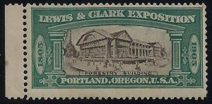 1905 Lewis & Clark Exposition Cinderella Forestry Building Mint NH