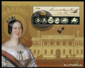 PORTUGAL SCOTT#2577   HOLOGRAM  SOUVENIR SHEET  MINT NH