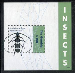 Gambia 3475, MNH, Insects Beetles, 2012. SCV-$6.0 x26145