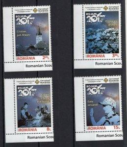 ROMANIA -  NATIONAL JAMBOREE OF ROMANIAN SCOUTS  2017   S566