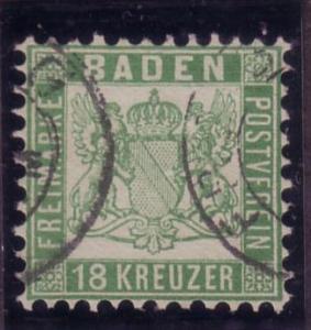 Baden Sc. # 24 Used F/VF CV $575.00