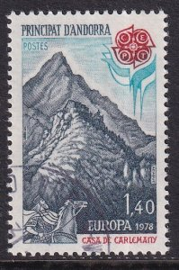 Andorra French    #263  cancelled   1978  Europa  1.40fr