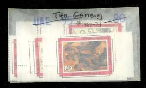 THE GAMBIA Sc#1464-1471 Complete Mint Never Hinged Set