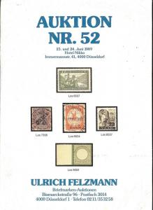 Felzmann: Sale # 52  -  Auktion NR.52, Ulrich Felzmann Sa...