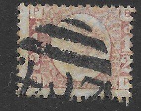 GB # 58 1/2 p bamtam plate 9