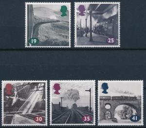 [61342] Great Britain 1994 Railway Train Elsenbahn Chemin De Fer  MNH
