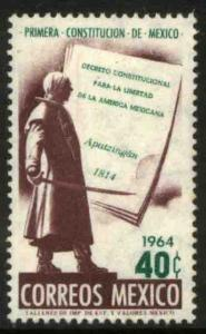 MEXICO 962, 150th Anniv. of  the First Mexican Constitution. MINT, NH. F-VF.