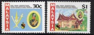 Malaysia Scott 455-456 MNH** set