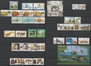 Moldova 2014 Complete year set MNH stamps, blocks, sheets