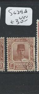 MALAYA TRENGGANU (P0410B) 3C  SG 29A  VFU