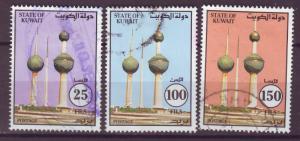 J14945 JLstamps 1993 kuwait set used #1205-7 towers